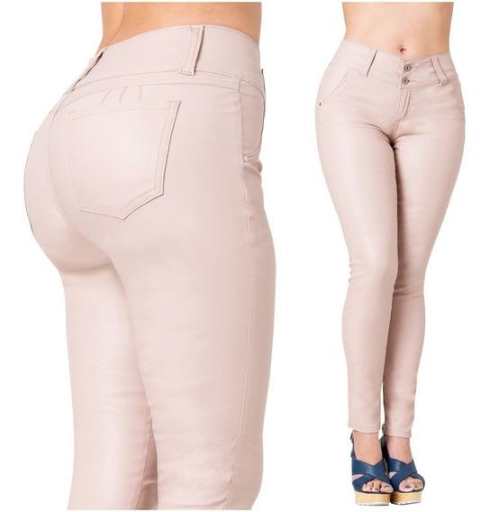Pantalon Colombiano Levanta Pomp Tipo Cuero Lowla Ccs2b0719