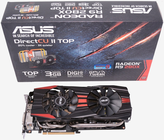 Asus R9 280x Directcu Ii Top Specs 3g 384 Bits