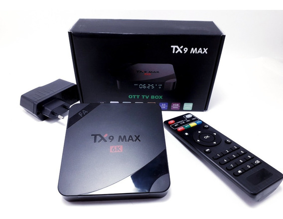 Box Tv Tx9 Max Android 9.0 64gb 4g Ram Barato
