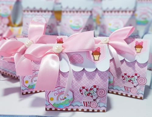 Kit Personalizados Confeitaria - 40 Itens