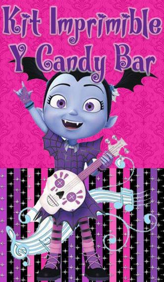 Kit Imprimible Y Candy Bar Vampirina!!!!!