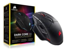 Mouse Gamer Corsair Dark Core 16000dpi Wireless Rgb Preto