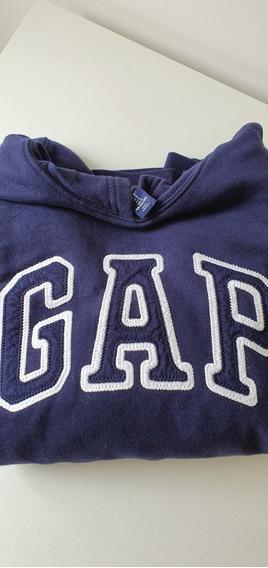 Blusa Moletom Com Capuz Gap Original