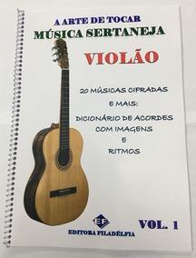 * 2apost. Violão Apostila Música Sertaneja Vol.1e Vol2