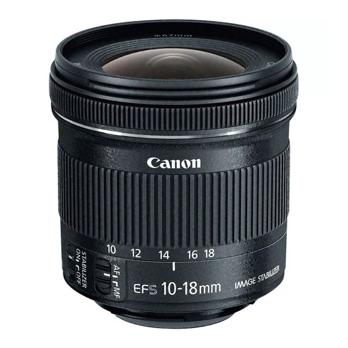 Lente Canon Ef-s 10-18mm F/4.5-5.6 Is  Stm Garantia Canon Br