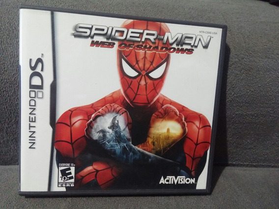 Spiderman Web Of Shadows Nintendo Ds Completo