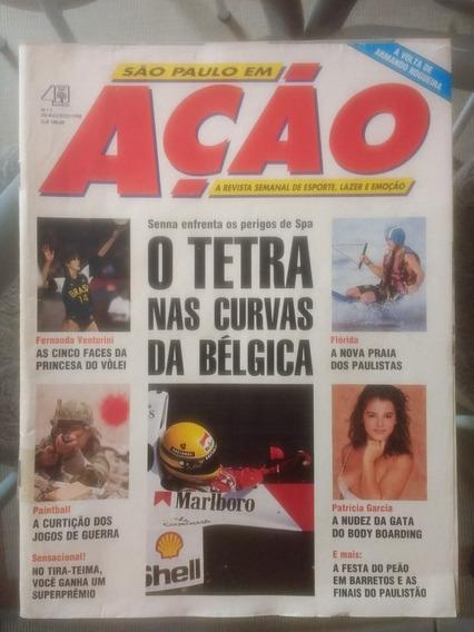 Revista São Paulo Em Ação N° 1 Agosto 1990 Raríssima Games