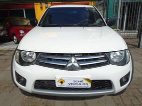 Mitsubishi L200 Triton Gls 4x4 2014 Branca Diesel
