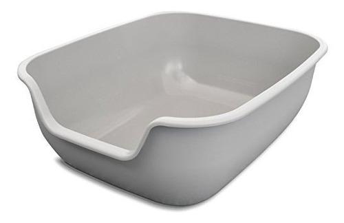 Caja De Arena Para Gatos Petfusion Easy Clean - Grande (the