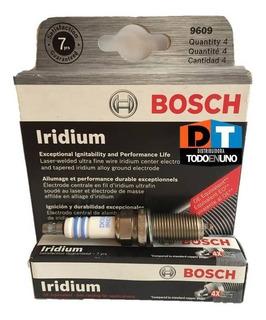Bujia Bosch Doble Iridium Hyundai Santa Fe 2007 2008 2009