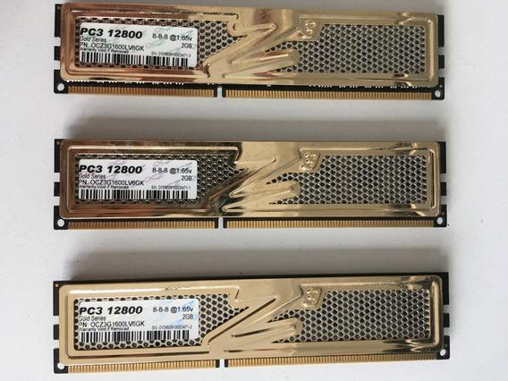 Memoria 2gb Ocz Ddr3 1600mhz Gold Series Pc3 12800 X1