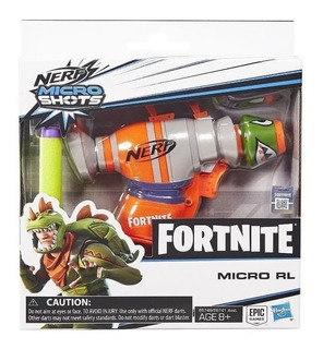 Pistola Nerf X Fornite Micro Shots Rl Hasbro