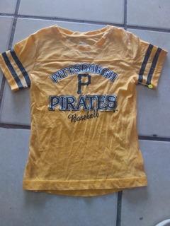 Playera Genuine Merchandise Mlb Pittsburgh Pirates Juvenil M
