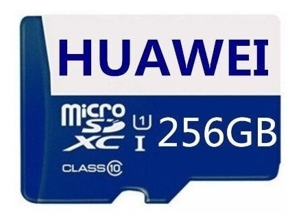 Cartão De Memória Microsd Huawei 256gb Premium + Brinde