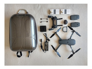 Dji Mavic Pro Fly + 3 Baterias + 3juegos D Helices + Mochila