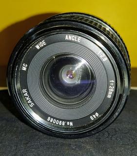 Lente Pentax 28mm Wide Angle 2.8f