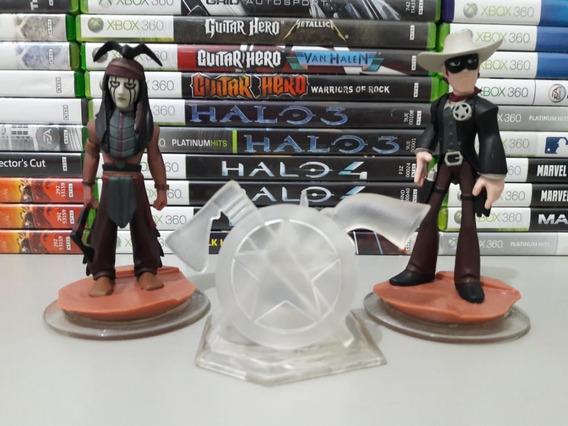 Disney Infinity 2 Bonecos Lone Ranger Xbox 360 E Ps3