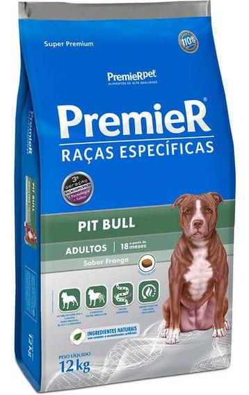 Ração Premier Raças Especificas Pit Bull 12 Kg