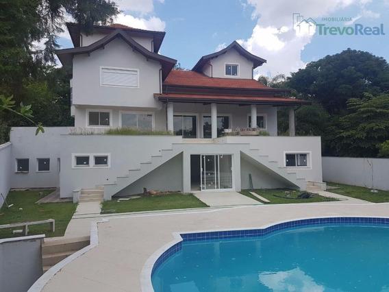 Casa Com 5 Dormitórios À Venda, 891 M² Por R$ 3.500.000 - Condomínio Estância Marambaia - Vinhedo/sp - Ca1394