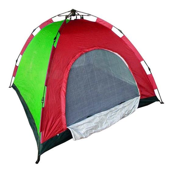 Barraca Camping Iglu Automatica 3 Pessoas Monta Sozinha