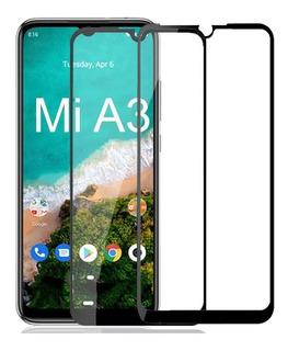 2 Película De Vidro Tela Toda Cover Full Xiaomi Mi A3 Mia3