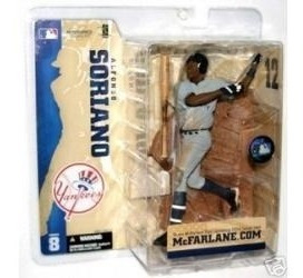 (clubhouse44) Mcfarlane Figura Beisbol Alfonso Soriano