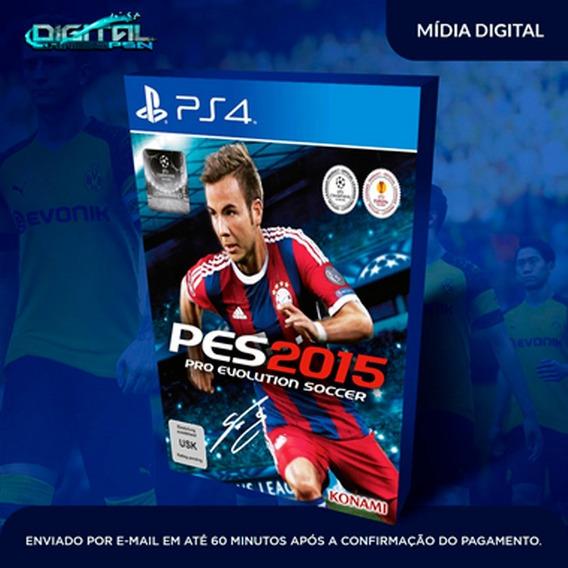 Pro Evolution Soccer 2015 Ps4 Psn Jogo Digital Envio Hoje!