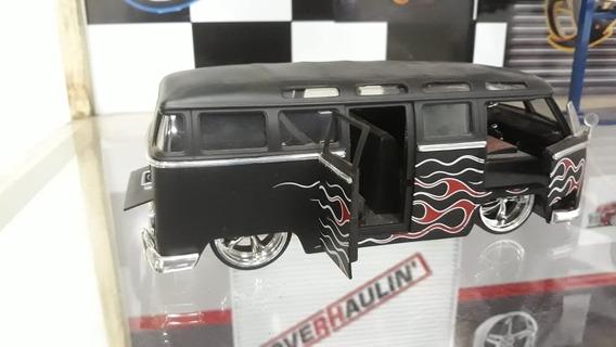 Miniatura Volkswagem Bus 1962 Jada Toys 1/24