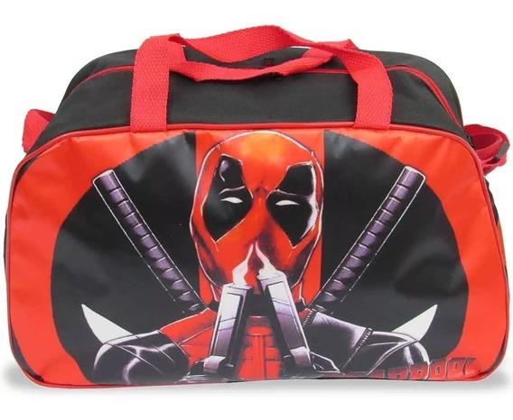Bolsa Infantil Para Viagem Deadpool - Pronta Entrega