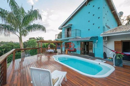 Chácara Com 3 Dormitórios À Venda, 1384 M² Por R$ 920.000,00 - Jardim Leonor - Itatiba/sp - Ch0302