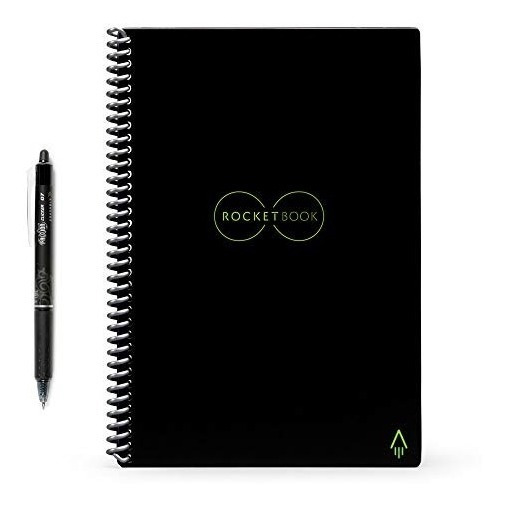 Cuaderno Inteligente Rocketbook Reutilizable Tam. Ejecutivo