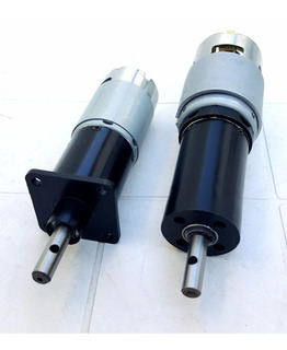 Motorreductor Motor Con Caja Reductor 12v 24v Diferentes Rpm