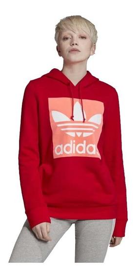 Buzo adidas Originals Trefoil Hoodie Eh4190 Mujer Eh4190-eh4