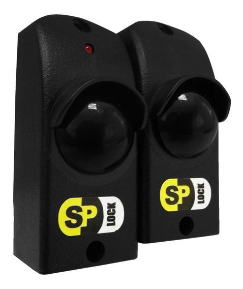 Sensor Barreira Infra Ativo Fotocélula Portão Alarme 25mts
