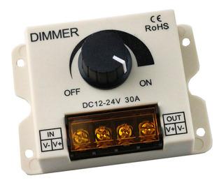 Diodo Emisor De Luz 30a Dimmer Dc 12v 24v 360w Brillo