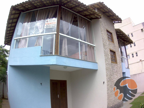 Casa Com 3 Quartos - Venda  Ou Temporada - Enseada Azul - Guarapari/es - Ca0465