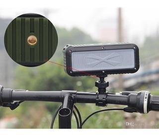 Parlante Bluetooth Con Soporte Bicicleta Resistente Agua