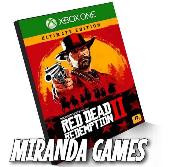 Red Dead Redemption 2 Ultimate Edition Xbox One Midia Digita