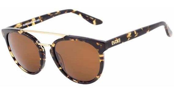 Oculos Solar Evoke Kosmopolite Ds3 G21 Blond Turtle Brown To