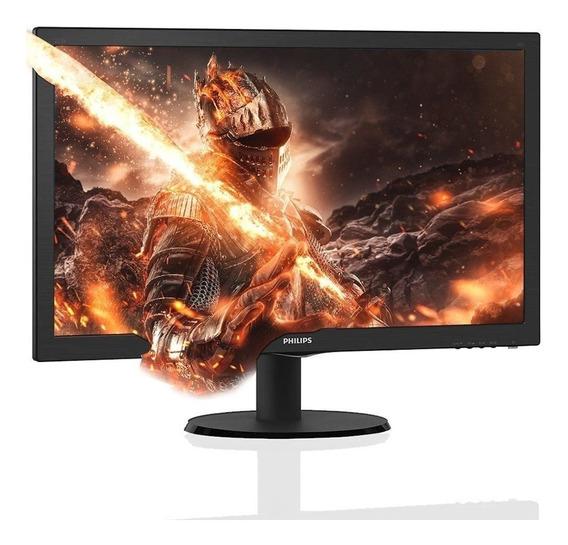 Monitor Philips 24 243v5lhsb Lcd Lite Hdmi Vga Dvi-d Smart