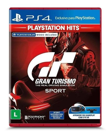 Gran Turismo Sport Ps4 Mídia Física Lacrado Leg Pt Br