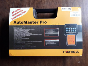 Scanner Foxwell Nt644 Profissional Automaster Pro