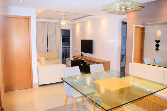 Apartamento 3 Quartos Mobiliado 89m2 - Catete