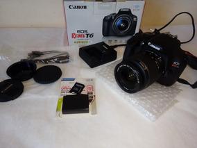 Câmera Canon Eos Rebel T6 (w)
