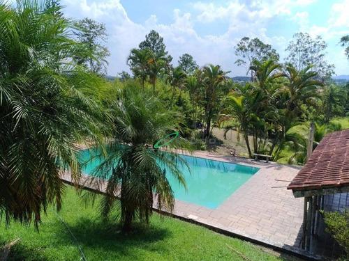 Chácara Com 3 Dormitórios À Venda, 7000 M² Por R$ 760.000,00 - Parque Agrinco - Guararema/sp - Ch0084