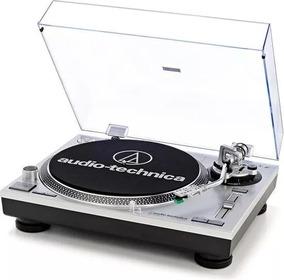 Toca Discos Audio Technica At-lp 120 Usb/novo Na Caixa Prata