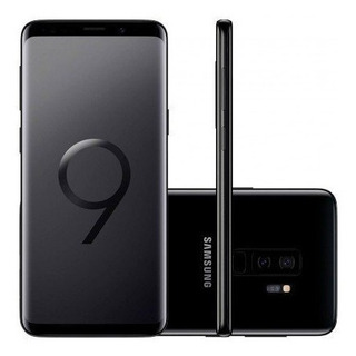 Samsung Galaxy S9 Plus G9650/ds 128gb Preto Original Vitrine