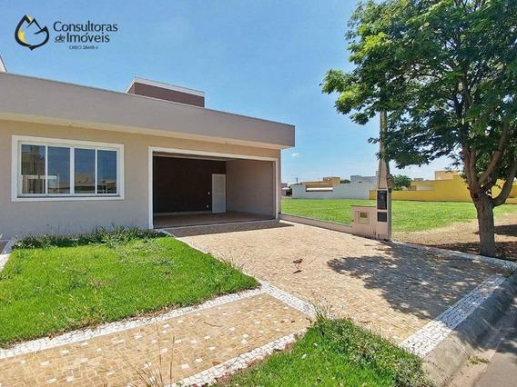 Casa Com 3 Dormitórios À Venda, 180 M² Por R$ 650.000,00 - Condomínio Campos Do Conde Ii - Paulínia/sp - Ca1172