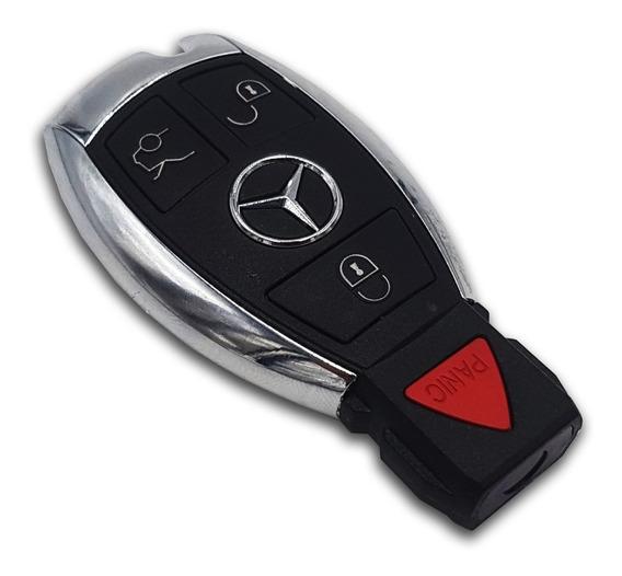 Juego 2 Carcasas Mercedes Cromada