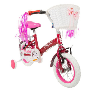 Bicicleta Rodado 12 Philco Infantil Incluye Canasto Garantia